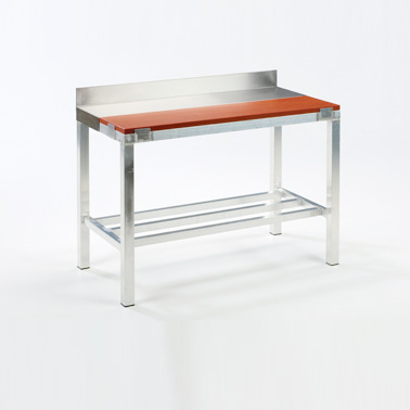 stainless steel top table images