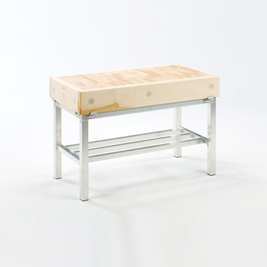 Stainless Steel Stands for Butchers Block Image