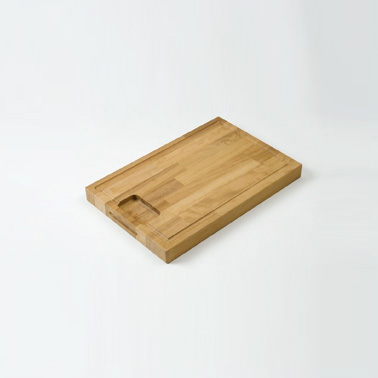"No 3 ""Groovy"" Hardwood Cutting Board Image"